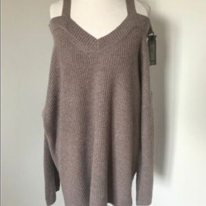 All Saints Dasha cold shoulder sweater S-M NO TAGS